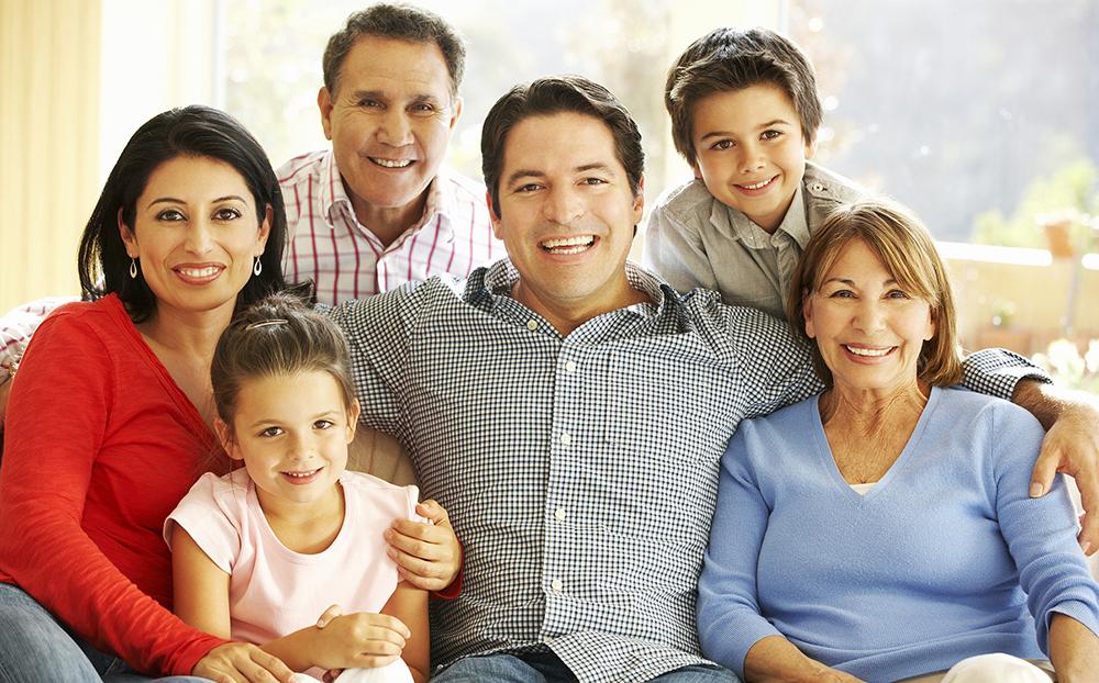 hispanic family multi generations